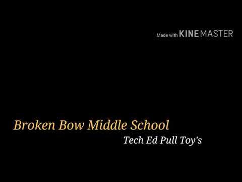 Broken Bow Middle School VEX pull toys