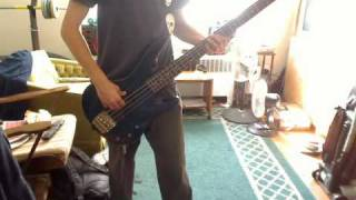 Dead Kennedys - California Uber Alles ((BASS COVER))