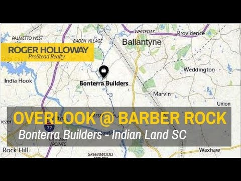 Overlook At Barber Rock From Bonterra Builders Indian Land Sc