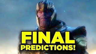 Endgame FINAL PREDICTIONS! (Craziest Theories!) #Debrief
