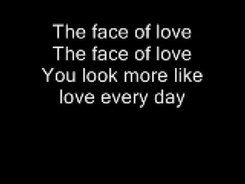 SANCTUS REAL-THE FACE OF LOVE WITH LYRICS