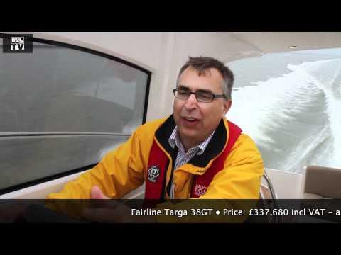Fairline Targa 38GT MBM full test video