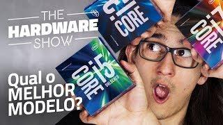 A diferença entre processadores Intel core i3, i5, i7 e i9 - The Hardware Show #10