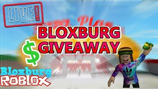 BLOXBURG - ROBLOX - WORKING GIVING MONEY ON BLOXBURG CHAQUE 20 MINUTE - GIVEAWAY- DONATION (OFFICIAL)
