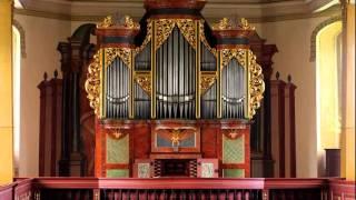Silbermann Organ Zöblitz - 03/10 O Welt, ich muss dich lassen