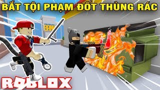 ROBLOX   Go Catch The Name Muddy Trash-Burning ATM Robbery   Crime Stopping Simulator   Vamy Tran