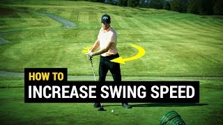 How To Increase Golf Swing Speed (3-STEP POWER SWING!)