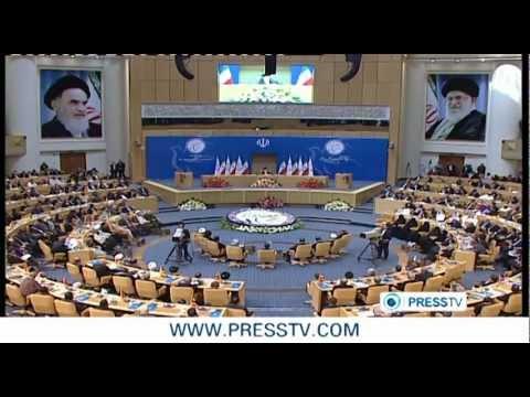 Ayatollah Seyyed Ali Khamenei's speech at NAM Summit 30-08-12, English Dubbed