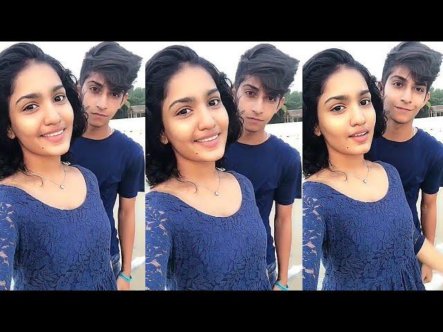 Nakul Thampi and Saniya Iyyappan Dubsmash Compilation