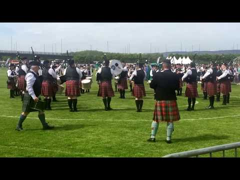 Pipes & Drums Of Police Service Of Northern Ireland - British Championships 2018 - Medley