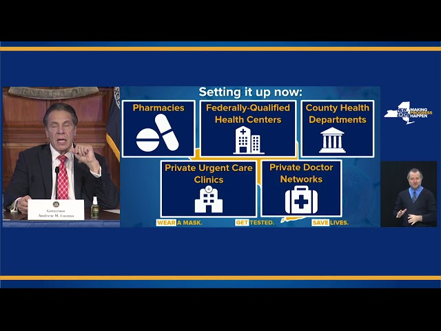 Governor Cuomo Updates New Yorkers on State\'s Progress During COVID-19 Pandemic