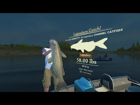 Rapala Pro Series Fishing : Where The Legendary Channel Catfish Spawns On Lake GuntersVille