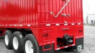 Hopper Bottom Grain Trailers A Train Farm trailer, Grain hauler. 260-238-5000