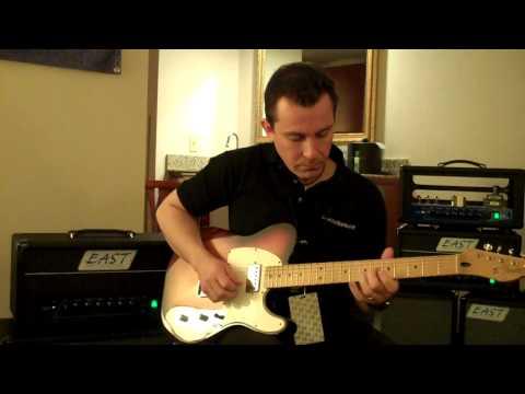 Austin Amp Show East Amplification Studio 2 Demo - Billy Penn 300guitars.com