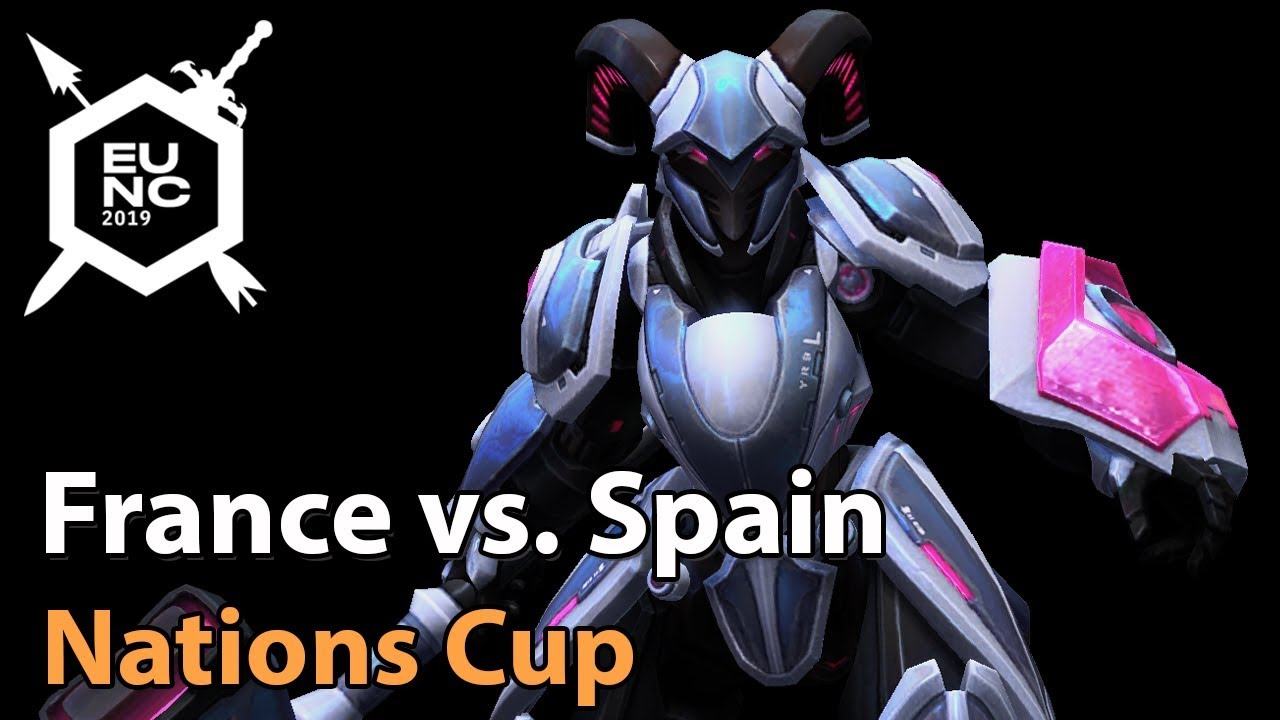 ► France vs. Spain - Nations Cup - Heroes of the Storm Esports