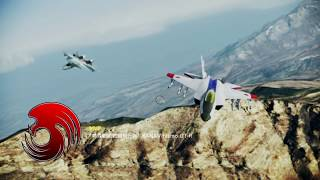 ACE COMBAT INFINITY Area B7R Dogfight Battle No.117