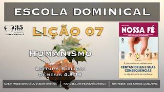 Aula 07 - Humanismo   Gênesis 4.8-16