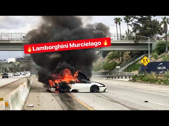 MY FRIENDS LAMBORGHINI CRASHES AND BURNS! *EMOTIONAL*