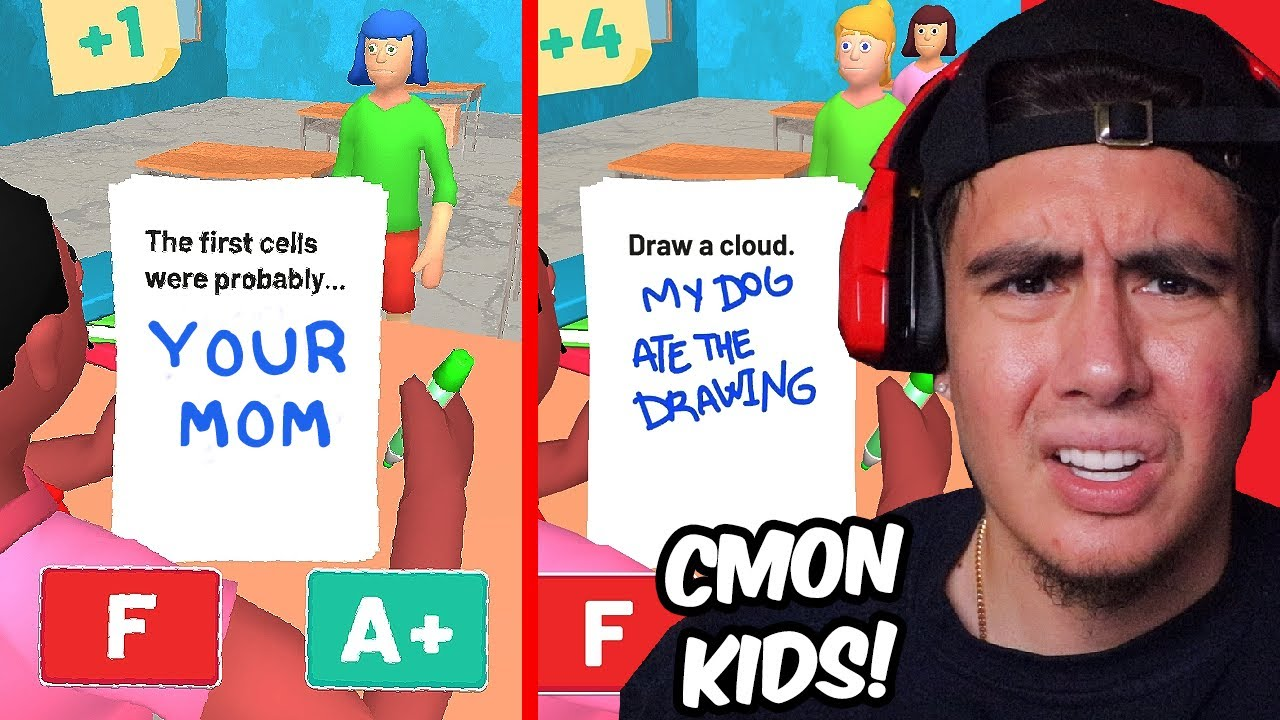 THESE KIDS ARE SO DUMB IT MADE ME LOSE FAITH IN HUMANITY | Grade Papers, Please!