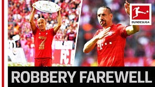 Robben & Ribery - An Emotional Farewell With One Last Title