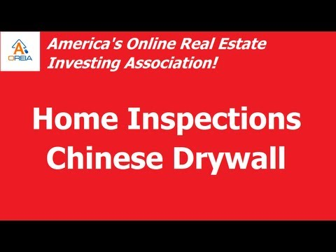 home-inspections---the-scourge-of-chinese-drywall-must-see!