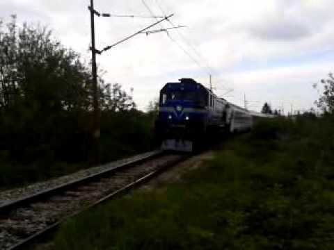 Ic Train 581 Ic Vlak 581 Zagreb Osijek Youtube