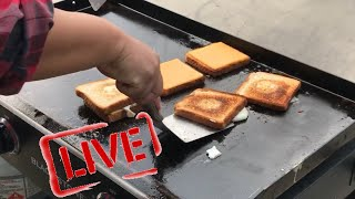 Ultimate Blackstone Grilled Cheese and Egg Sandwich - Egg Recipe