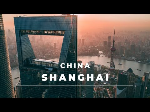 SHANGHAI Skyline by drone - Epic aerial 4k footage DJI Mavic 2 Pro | China Travel