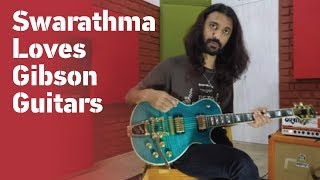 Swarathma guitarist Varun Murali is part of the Gibson Guitar Family