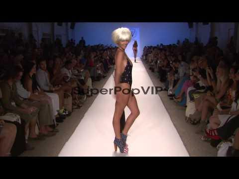 Models walk runway during Wildfox Swim s