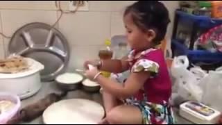Vicky arora baby girl khana banati