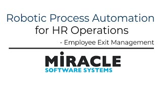 Learn how to make smoother transitions with rpa for hr operations. from requesting the removal of their email address recovering equipment and terminating...