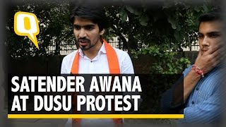 The Quint: Blame Left Groups for Ramjas Ruckus, Not Us: ABVP's Satender Awana