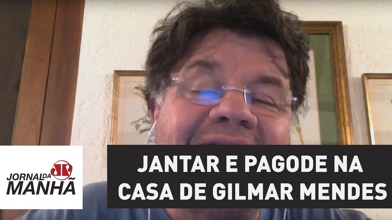 Gilmar Mendes, o beiçola, é um sujeito muito engraçado | Jovem Pan