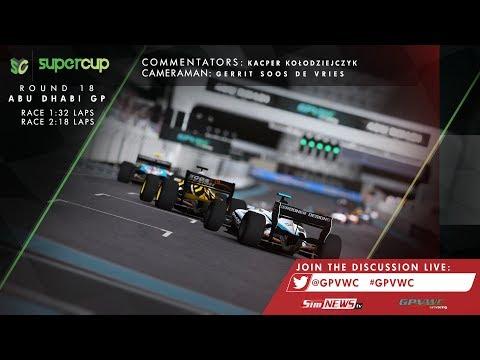 GPVWC 2017 - Supercup Round 18: Abu Dhabi Rfactor 2 - Simnews.TV