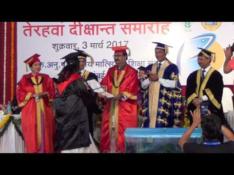 ICAR-CIFE | XIII Convocation | Award of PhD Degrees | 3 March 2017