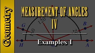 Geometry: Measurement of Angles (Level 4 of 9)   Examples I