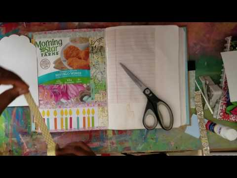 Junk Journal With Me || June 1 & 2 Layouts