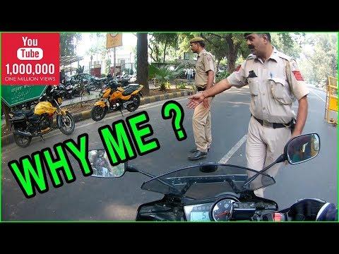 Delhi police stopped a biker | Episode 1 | MVFILMS | Vlog 2