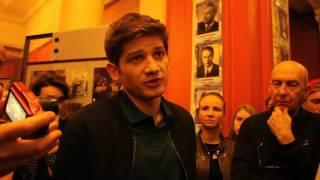 """Кантемир Балагов на петербургской премьере фильма """"Теснота"""""""