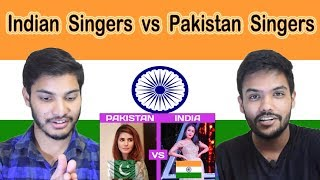 Indian reaction on Pakistan Singers vs Indian Singers   Swaggy d