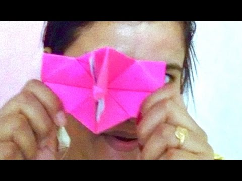 How to make an origami paper Camera - kids craft