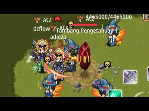 War guild Alcatraz Ksatria Online Indonesia