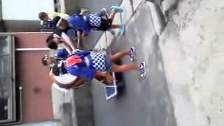 鳥取県伯耆町溝口地区夏祭り子供神輿