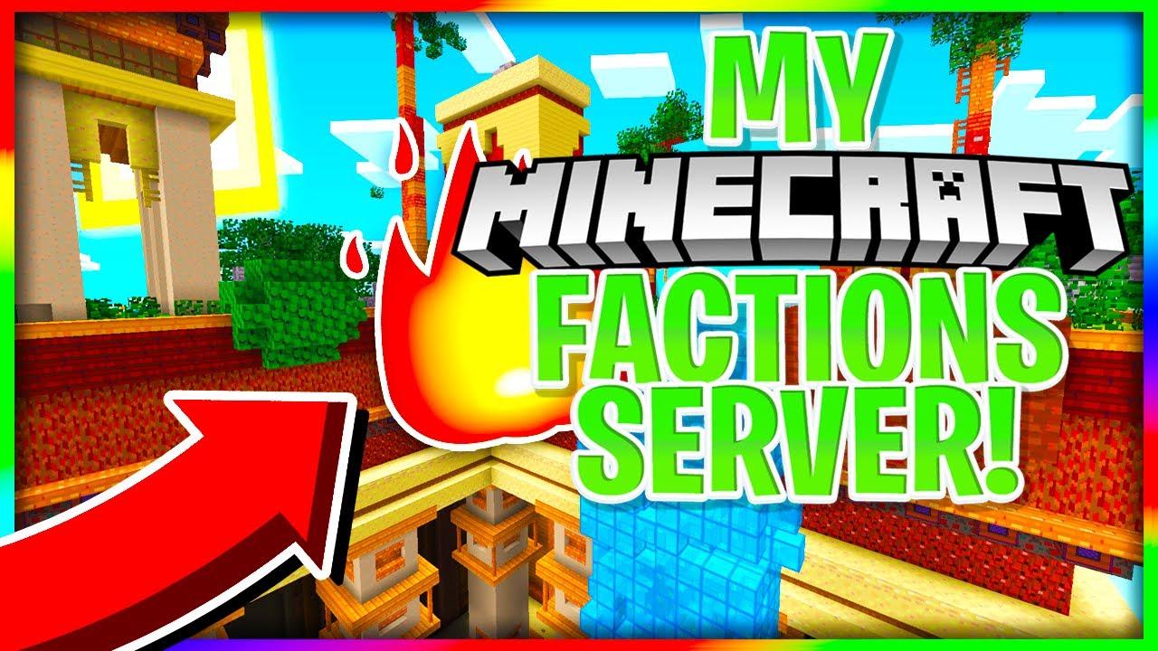 My New Super Op Factions Server Release Free Top Ranks 1 16 Op Factions Server Youtube