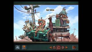 Deponia by Daedalic: iOS iPad Air 2 Gameplay