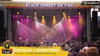 Hans Söllner & Bayaman'Sissdem beim Black Forest on Fire Reggae Festival 2019 in Berghaupten