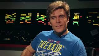 Встречаем Вика Миньону за кулисами сериала «Звёздный путь продолжается»