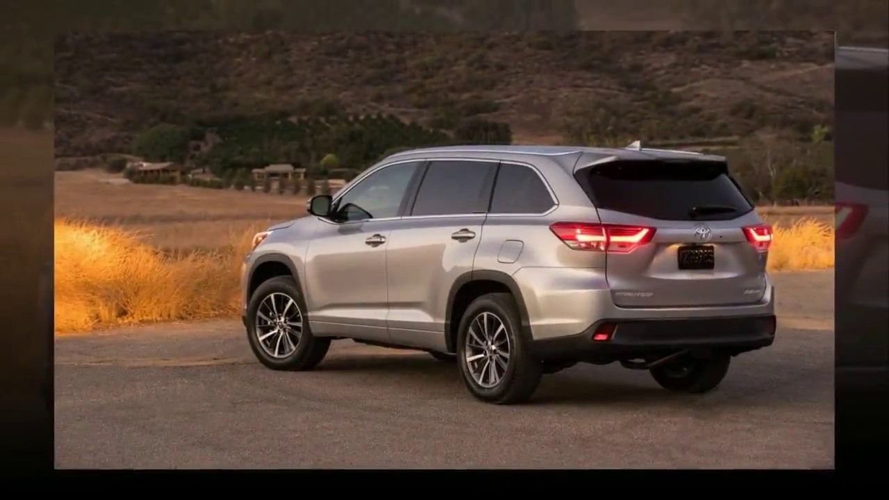 2018 toyota highlander limited. wonderful 2018 2018 toyota highlander se review in toyota highlander limited