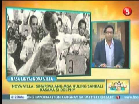 Good Morning Club- Live Phone interview kay Nova Villa (July 11)
